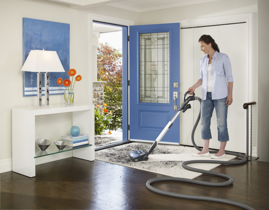 A Central Vacuum Cleaner