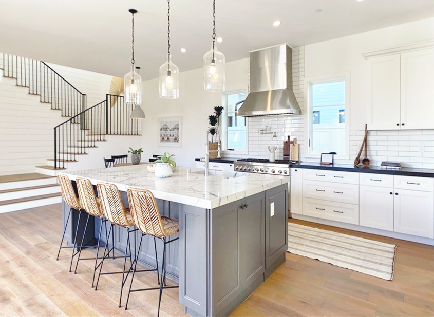 How To Incorporate Shaker Cabinets In Your Modern Farmhouse Kitchen Flex House Home Improvement Ideas Tips